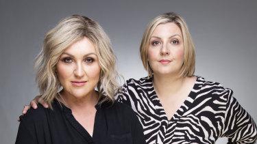 Meshel Laurie and Emily Webb, creators of the Australian True Crime podcast.