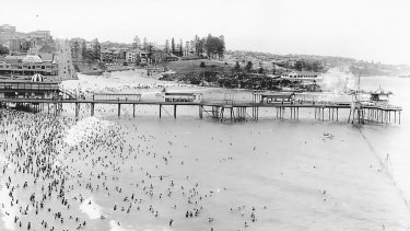 """Coogee Pier: The shark in the """"shark arm"""" mystery was caught a few kilometres from here in 1935."""