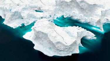 El derretimiento de la capa de hielo de Groenlandia ha provocado un aumento de aproximadamente el 25 por ciento del nivel del mar en el mundo.