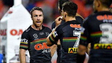 James Maloney fires up the young Panthers outfit.