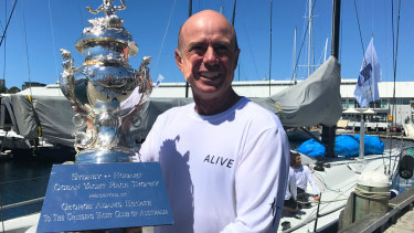 Duncan Hine, skipper of Tasmanian yacht Alive said his yacht is eager to take out the first back-to-back overall Sydney to Hobart since 1965.