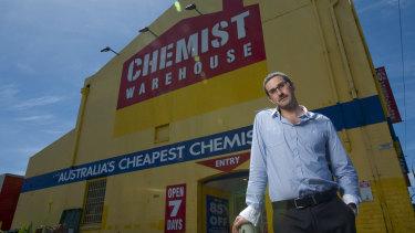 Chemist Warehouse senior executive Damien Gance in 2011.