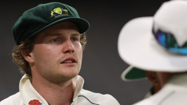 Will Pucovski has made himself unavailable for Test selection.