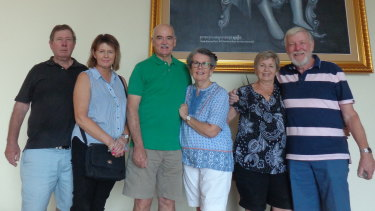 Bryan and Mary Walsh from Mount Gambier, Brian and Anne Stock from Brisbane and Sandy and Mike Smith from Bli Bli are among 39 Australians hoping to return after being quarantined in Cambodia.