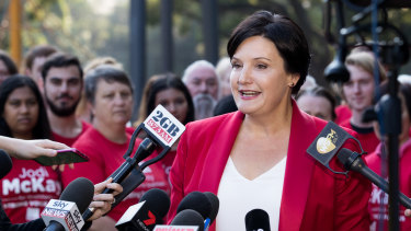 Strathfield MP Jodi McKay is challenging Kogarah MP Chris Minns for the leadership of the NSW Labor Party.