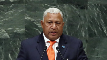 Fiji's Prime Minister Frank  Bainimarama has won another term in only the second elections held since 2006.