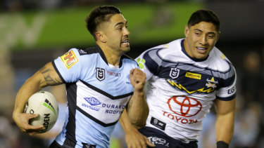 Switch of focus: Shaun Johnson has been named in an exciting New Zealand squad for the Nines.