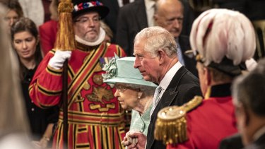 Prince Charles is stepping out of his mother's shadow.