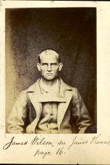 James Wilson, who was imprisoned at Fremantle.
