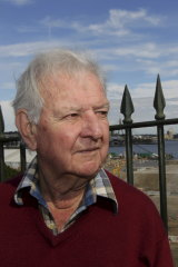 Former unionist Jack Mundey, known for leading a series of green bans to prevent overdevelopment in Sydney, died in May last year.