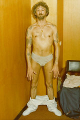 """Rodney Collins, also known as """"The Duke"""", caught with his pants down after he was arrested for murder in 1982."""