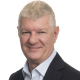 DP World Australia's chief operating officer Andrew Adam.
