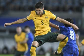 New generation: Croatian-born Fran Karacic impressed on debut against Kuwait.