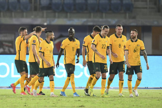 The victory was the Socceroos' sixth from six starts in qualifying for Qatar 2022 and follows last week's defeat of Kuwait.