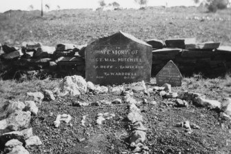 Graves of Australians killed at the Battle of Elands River during the Boer War.