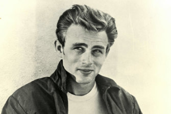American actor James Dean.