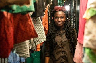 Diana Moranga, 22, is a sucessful product of Kibera's St John Community School, studying IT in Nairobi.