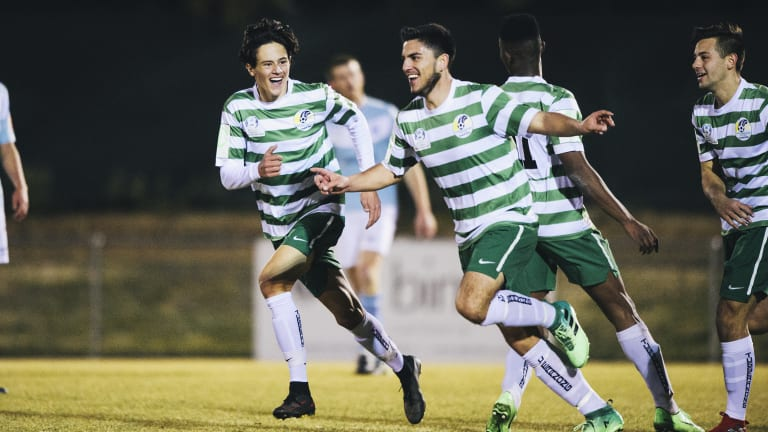 Tuggeranong United have made finals for the first time in 15 years.