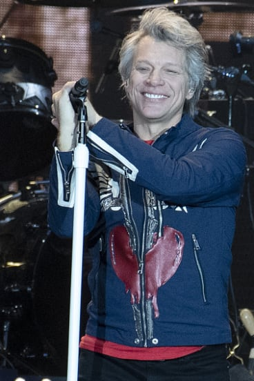 Jon Bon Jovi had the crowd on his side.