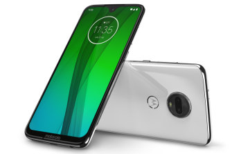 The Moto G7 is very impressive for $349.