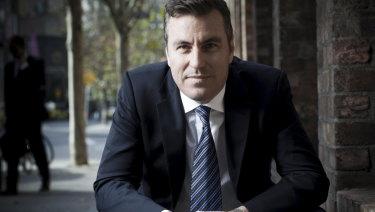 CrownBet chief executive Matt Tripp