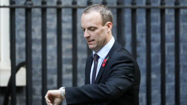 Dominic Raab, Brexit secretary, has quit in protest against his government's Brexit pan.