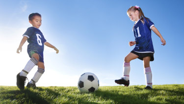 Sport registration fees will be significantly cheaper for kids in NSW.
