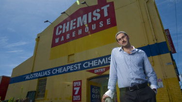 Chemist Warehouse senior executive Damien Gance in 2011.
