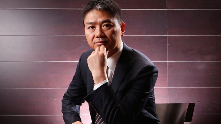 JD.com founder Richard Liu.