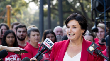 Jodi McKay, who can't bank on all the votes of her fellow EMILY'S Listers in the battle for the NSW Labor leadership.