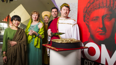 The bloody, treasure-filled spectacle that is Ancient Rome is coming to Canberra.
