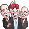 Treasurer gets pally with Trump's crew