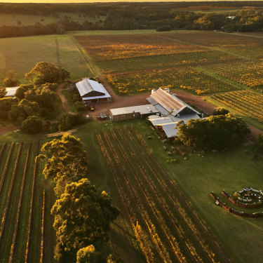 Cullen, a biodynamic vineyard within the Margaret River wine region in Western Australia.