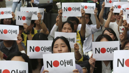 Man self-immolates near Japanese embassy amid Seoul-Tokyo spat
