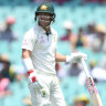 New Year's Test LIVE from the SCG: Smith out for 63 as Labuschagne goes big