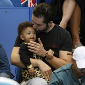 Olympia Williams and Alexis Ohanian.