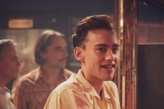 Olly Alexander as Ricthie in <i>It's A Sin</i>.