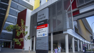 """A """"code yellow"""" has been declared at Cairns Hospital following in influx of PNG COVID-19 patients."""