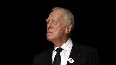 Max Von Sydow has died at the age of 90.
