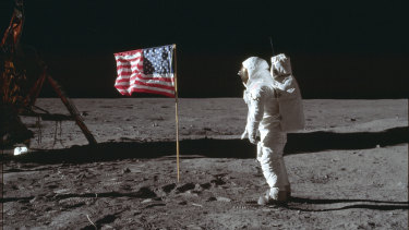 As boomers took a walk on the wild side, astronaut Buzz Aldrin and Neil Armstrong took a stroll on the moon.