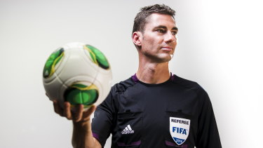 Ex-soccer referee Ben Williams isn't foreign to abuse.