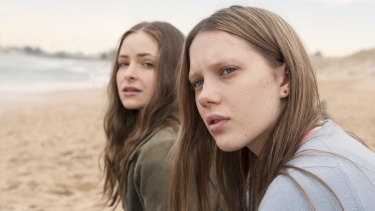 Puberty Blues, starring Ashleigh Cummings and Brenna Harding, is another TV success.