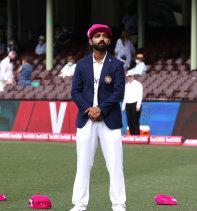 India captain Ajinkya Rahane.