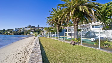The Bursill family property on Dumaresq Road in Rose Bay will undergo an $8.5 million demolition and rebuild.