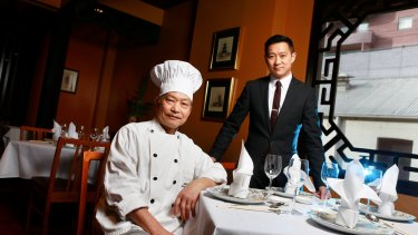 Father-and-son team of the Flower Drum restaurant, Anthony and Jason Lui.