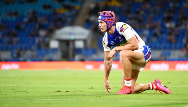 Kalyn Ponga is in huge doubt for this year's State of Origin series.