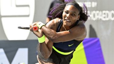 Serena Williams.