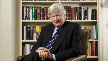 Australian-born human rights lawyer Geoffrey Robertson.