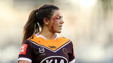 Brisbane Broncos star Millie Boyle.