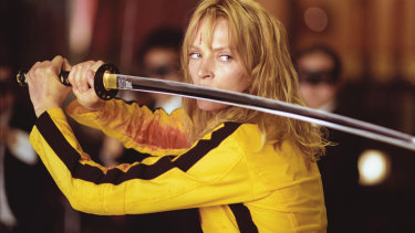 Uma Thurman's sword-wielding former assassin just wants to reconnect with her child in Kill Bill: Vol 1.